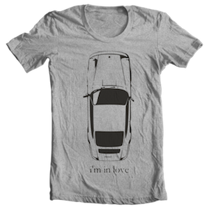 i'm in love Porsche 911 T-shirt